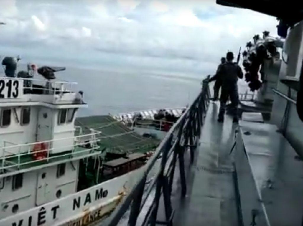Kapal Vietnam Tabrak Kapal TNI AL, Komisi I: Menlu Bisa Kirim Nota Protes