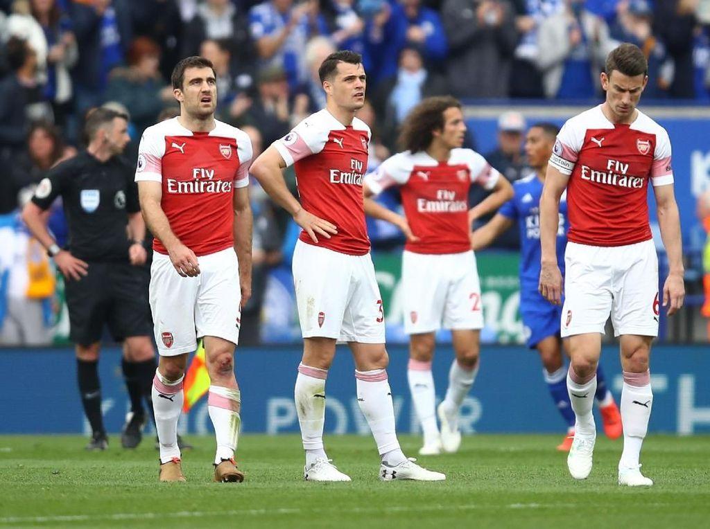 Leicester Vs Arsenal: Torehan Buruk The Gunners dalam 53 Tahun