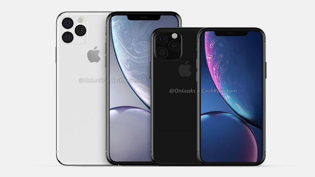 Inikah Wujud iPhone XI dan iPhone XI Max?