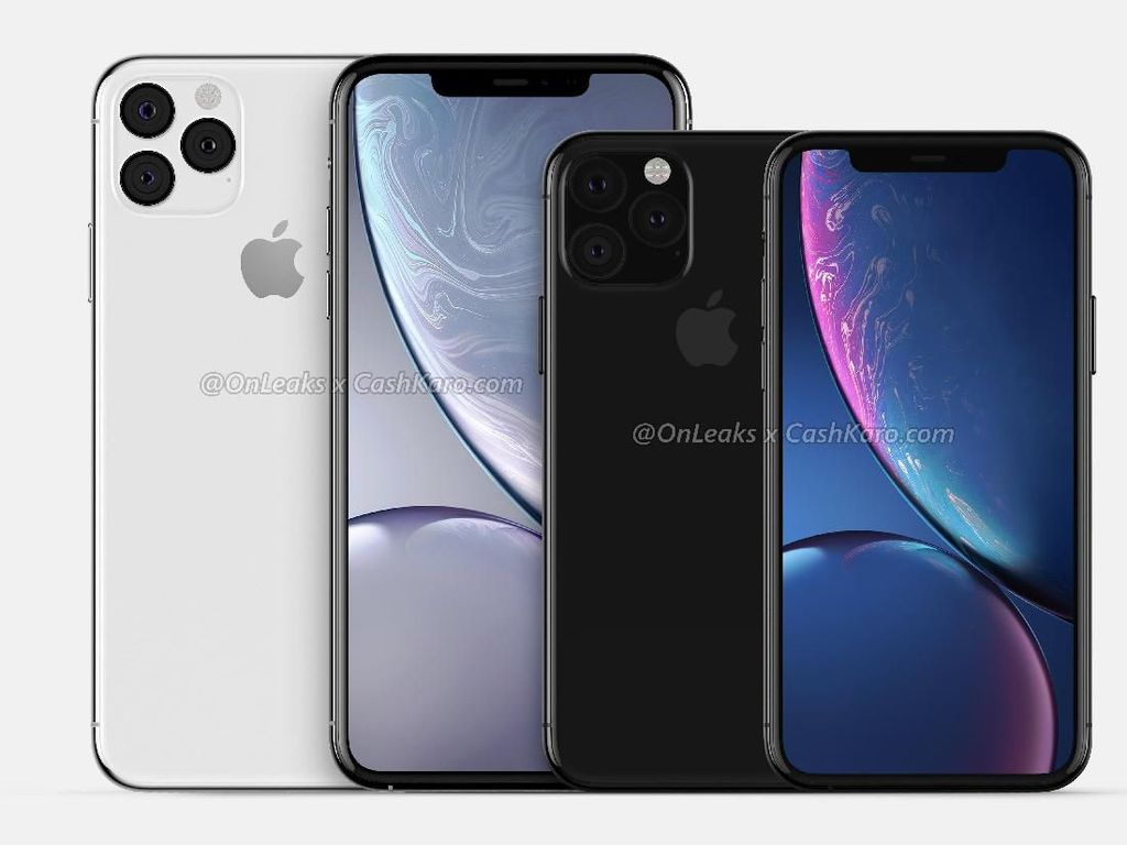 Inikah Wujud iPhone XI dan iPhone XI Max?