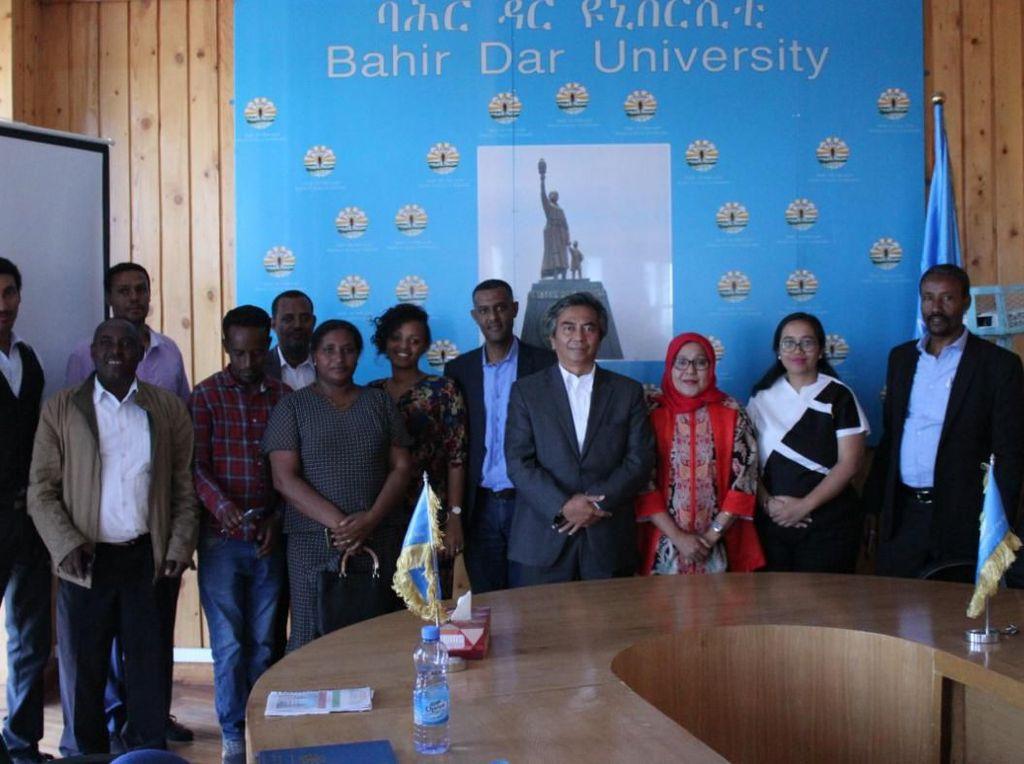 Kerja Sama Universitas Pertama Ethiopia dengan Indonesia