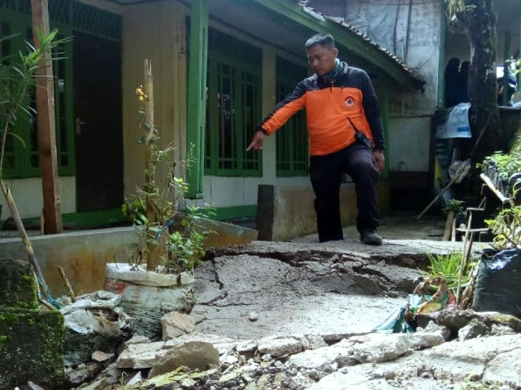 Penjelasan PVMBG soal Pergerakan Tanah di Nyalindung Sukabumi