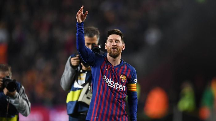 Lionel Messi dinilai lebih senang bersama Barcelona. (Foto: David Ramos/Getty Images)