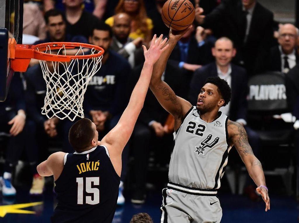 Hasil NBA: Singkirkan Spurs, Nuggets ke Semifinal Wilayah Barat