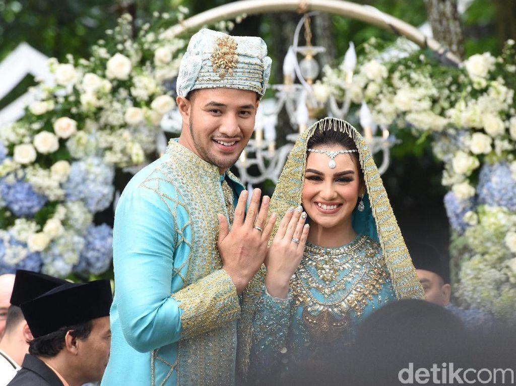 Ammar Zoni dan Irish Bella Resmi Jadi Suami-Istri