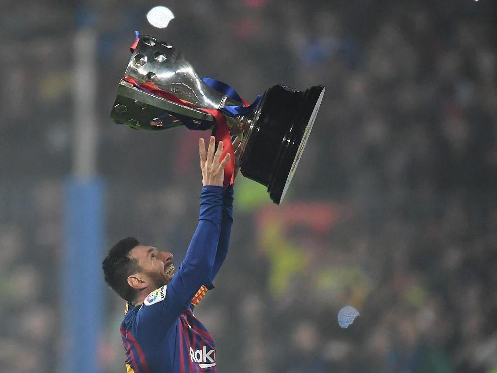 Sejak Debut 2005, Messi Punya Trofi Lebih Banyak Ketimbang Madrid