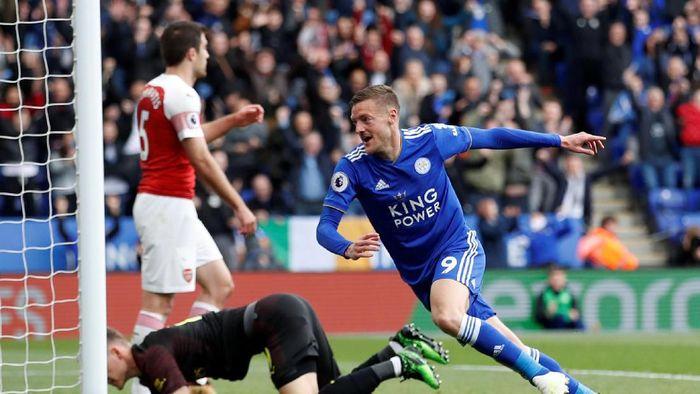 Leicester City vs Arsenal di King Power Stadium, Minggu (28/4/2019)