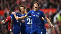 Babak I Man United vs Chelsea: Gol Mata Dibalas Alonso, Skor 1-1