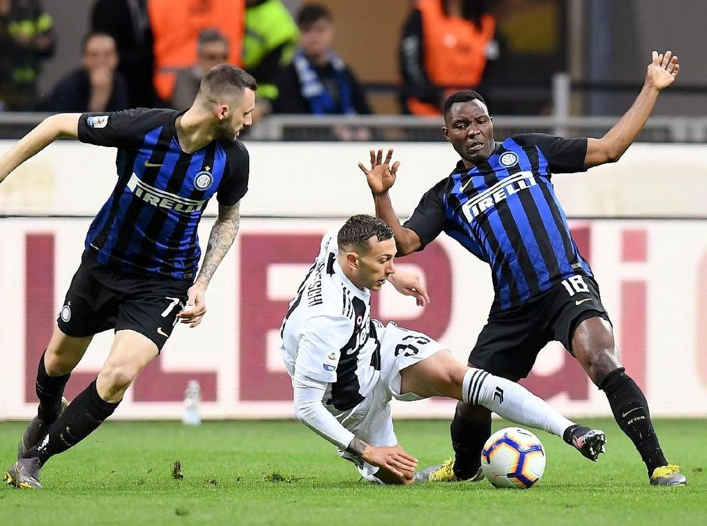 Jadwal Siaran Langsung ICC 2019 Sore Nanti: Juventus Vs Inter Milan