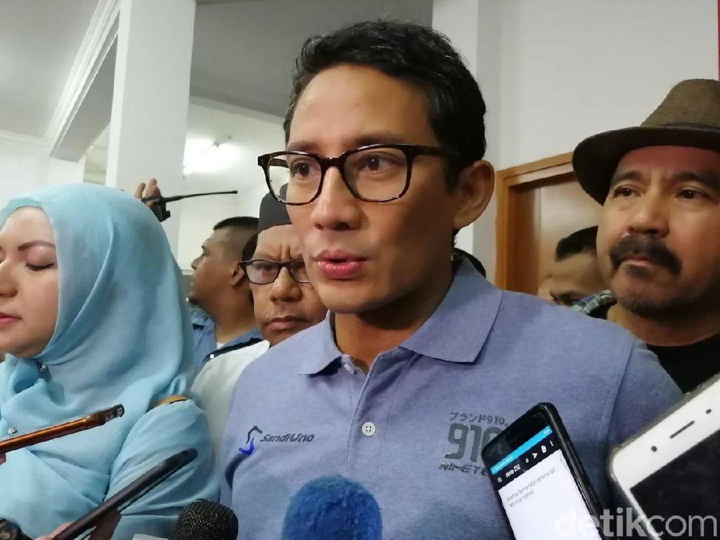 Sandiaga: Nasi Padang Tak Akan Pernah Sepi, Jangan Takut Diboikot