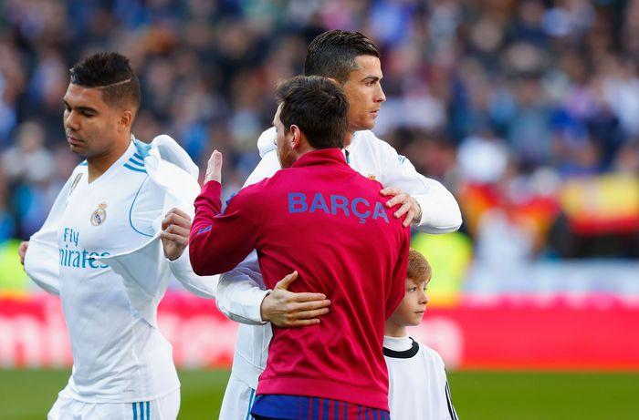 Cristiano Ronaldo-Lionel Messi