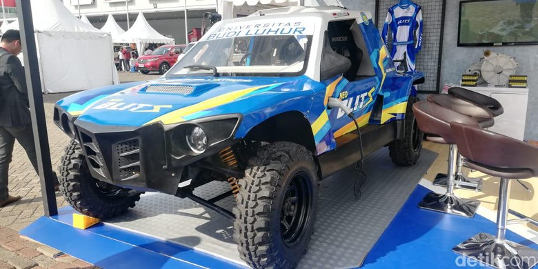 Mobil Listrik Anak Bangsa Ikut Rally Dakar Tahun Depan