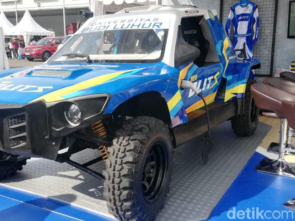 Pereli Nasional Siap Geber Mobil Listrik Anak Bangsa di Rally Dakar