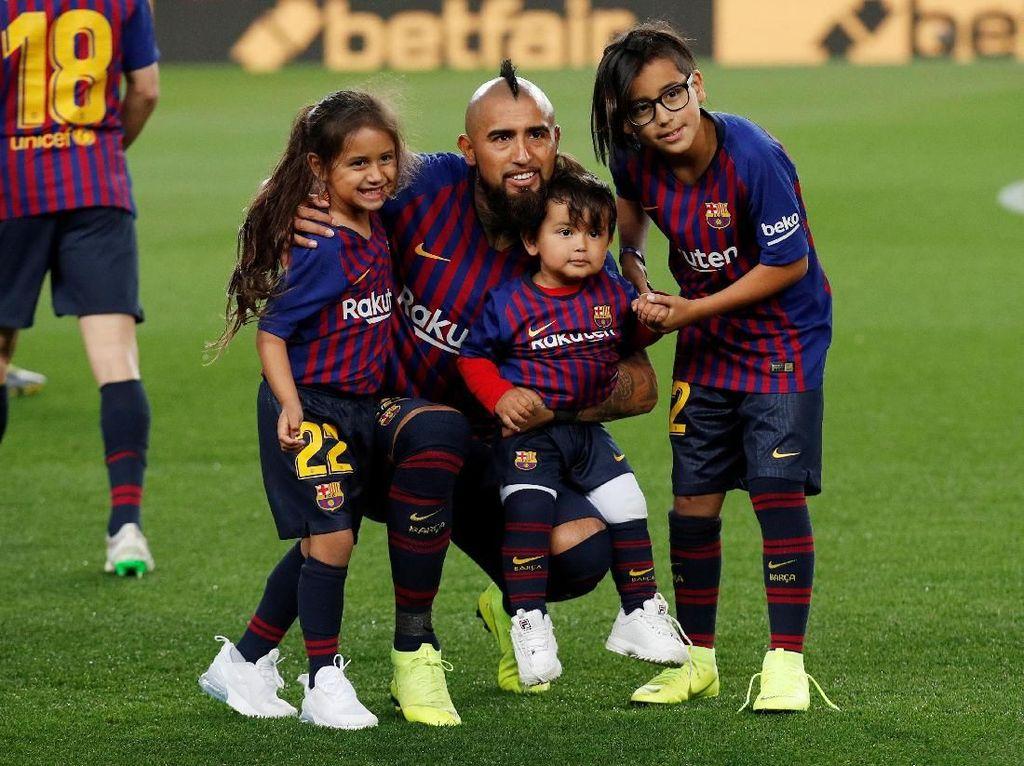 Arturo Vidal Sewindu Selalu Juara Liga