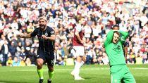 Gol Tipis Aguero Bawa City ke Puncak Lagi