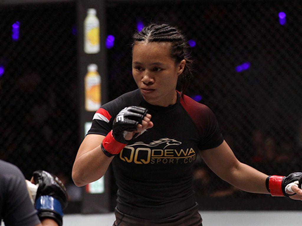 Priscilla Incar Gelar Juara Dunia di ONE Championship Jakarta