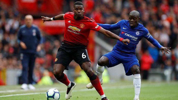 Manchester United vs Chelsea di pekan pertama 2019/2020. (Foto: Reuters)