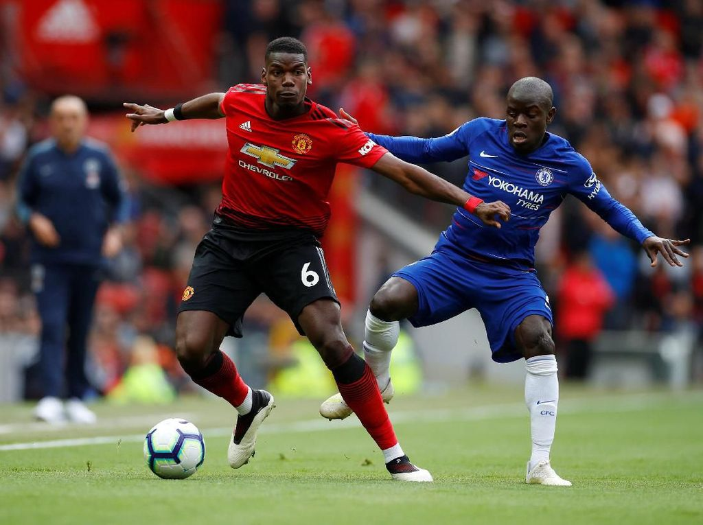 Man United vs Chelsea di Pekan Pertama Premier League 2019/2020