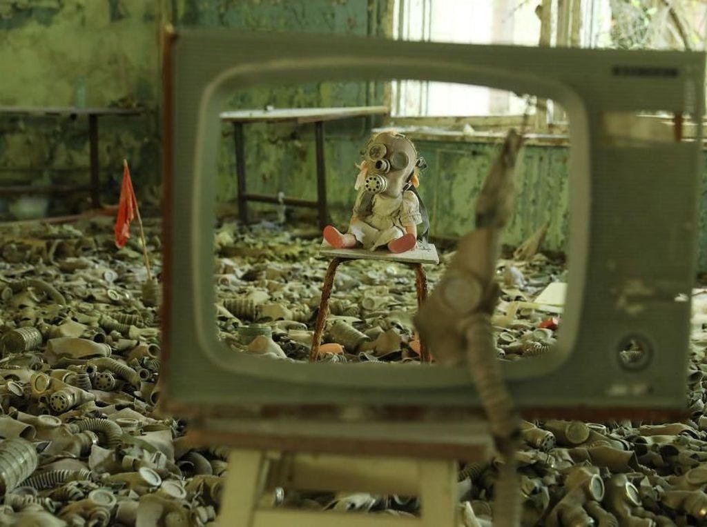 Seramnya Kota Hantu Peninggalan Tragedi Nuklir Chernobyl