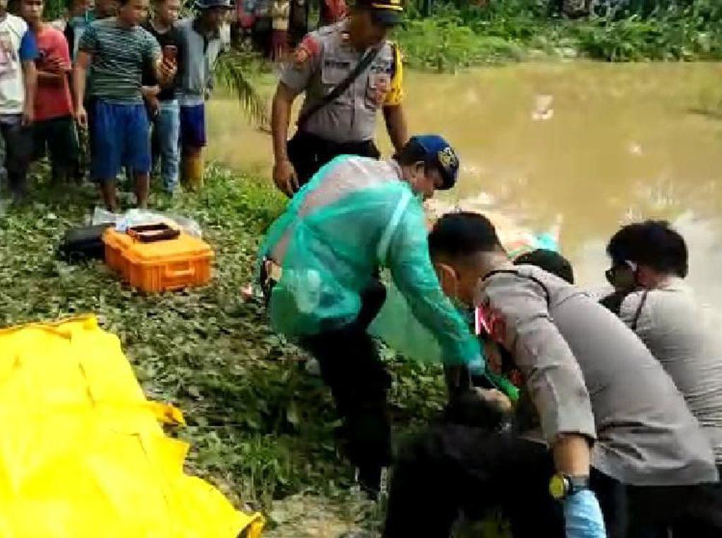 Mayat Tanpa Identitas Ditemukan di Kubangan Kebun Kelapa Sawit Konawe