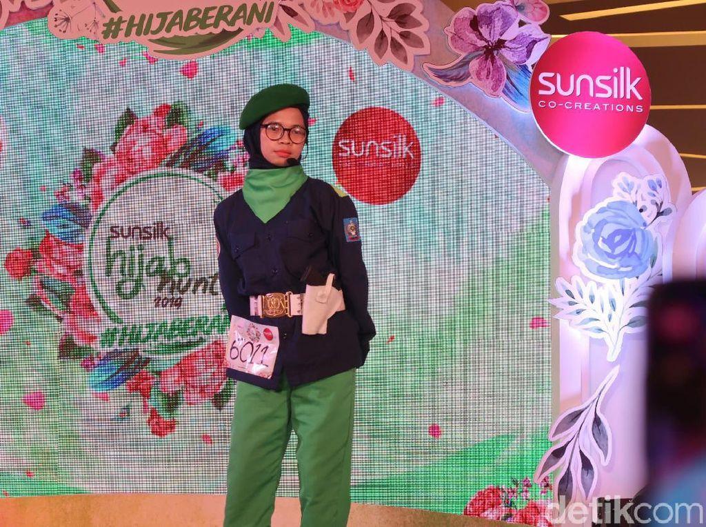 Sempat Tercebur ke Kolam, Hijabers Ini Juara 2 Sunsilk Hijab Hunt Makassar