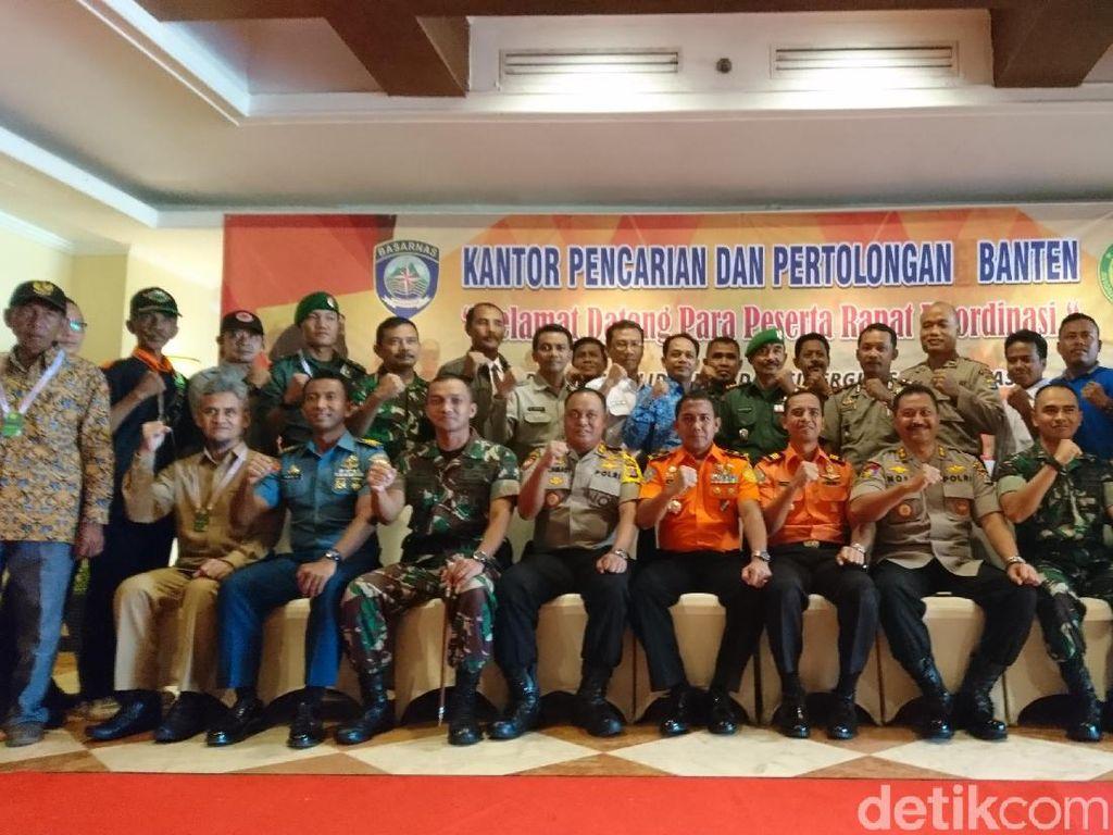 Basarnas Banten Latihan Tangani Potensi Bencana hingga Manusia Kapal