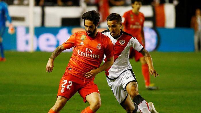 Real Madrid menelan kekalahan ke-10 di LaLiga musim ini. (Foto: Reuters)