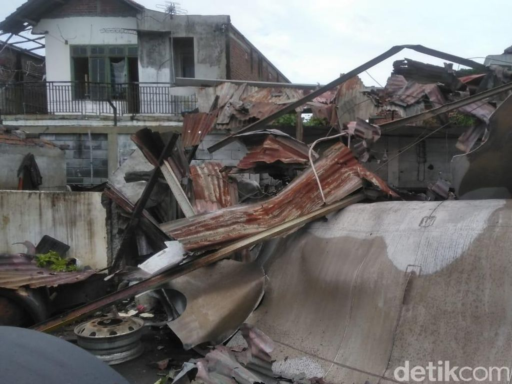 23 Rumah Warga Hancur dan Rusak Imbas Tangki Meledak Saat Dilas