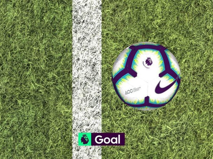 Gol Manchester City ke gawang Burnley hanya melewati garis gawang sejauh 29,51 milimeter (Instagram @premierleague)
