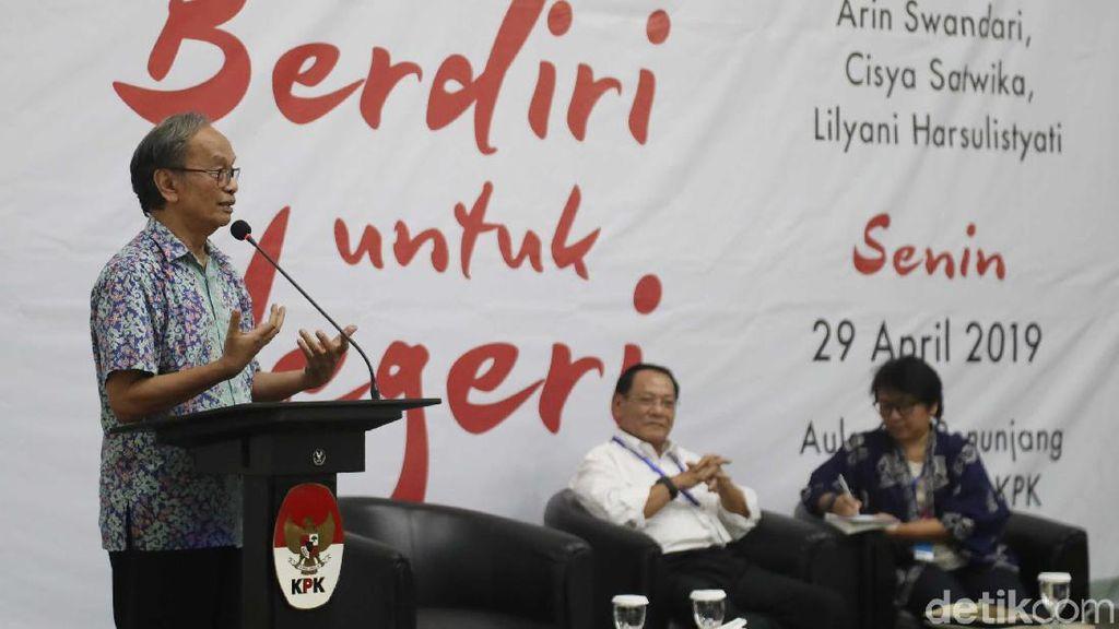 Eks Panglima TNI dan Mantan Menteri LKH Hadiri Bedah Buku KPK