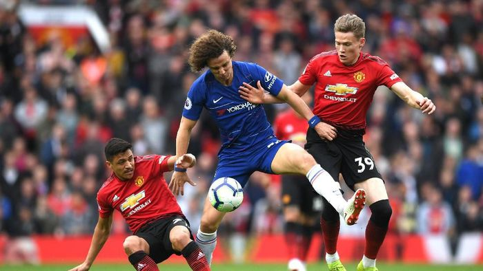 Manchester United vs Chelsea Berakhir Imbang 1-1