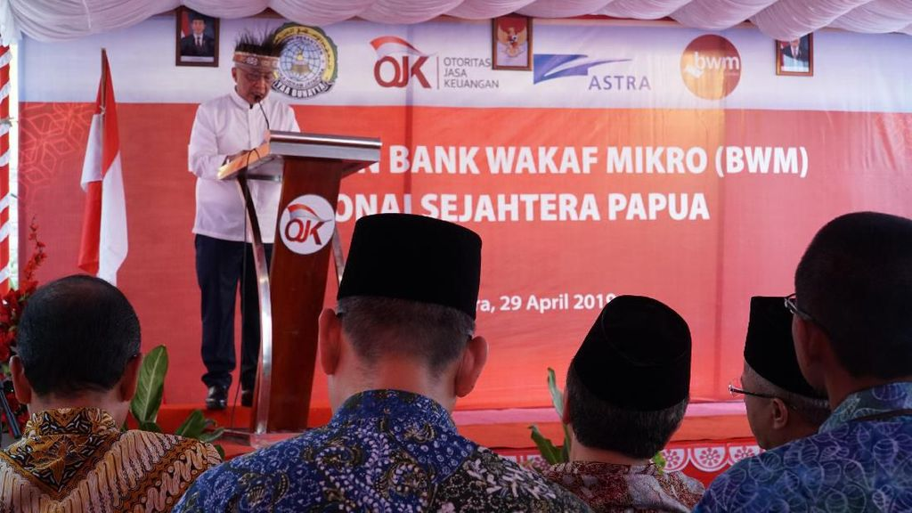 OJK Resmikan Bank Wakaf Mikro di Jayapura