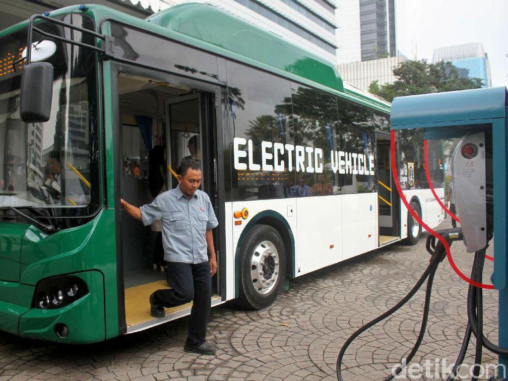 Sekali Cas, Calon Bus Listrik TransJakarta Bisa Tempuh 250 Km