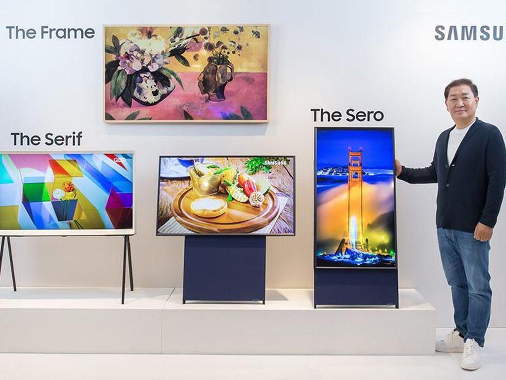 Samsung Rilis TV Vertikal buat Milenial