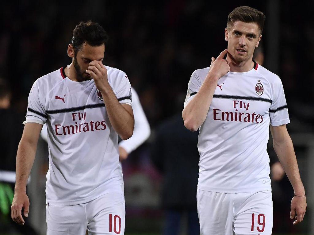 Dicoret dari Liga Europa adalah Puncak Derita AC Milan