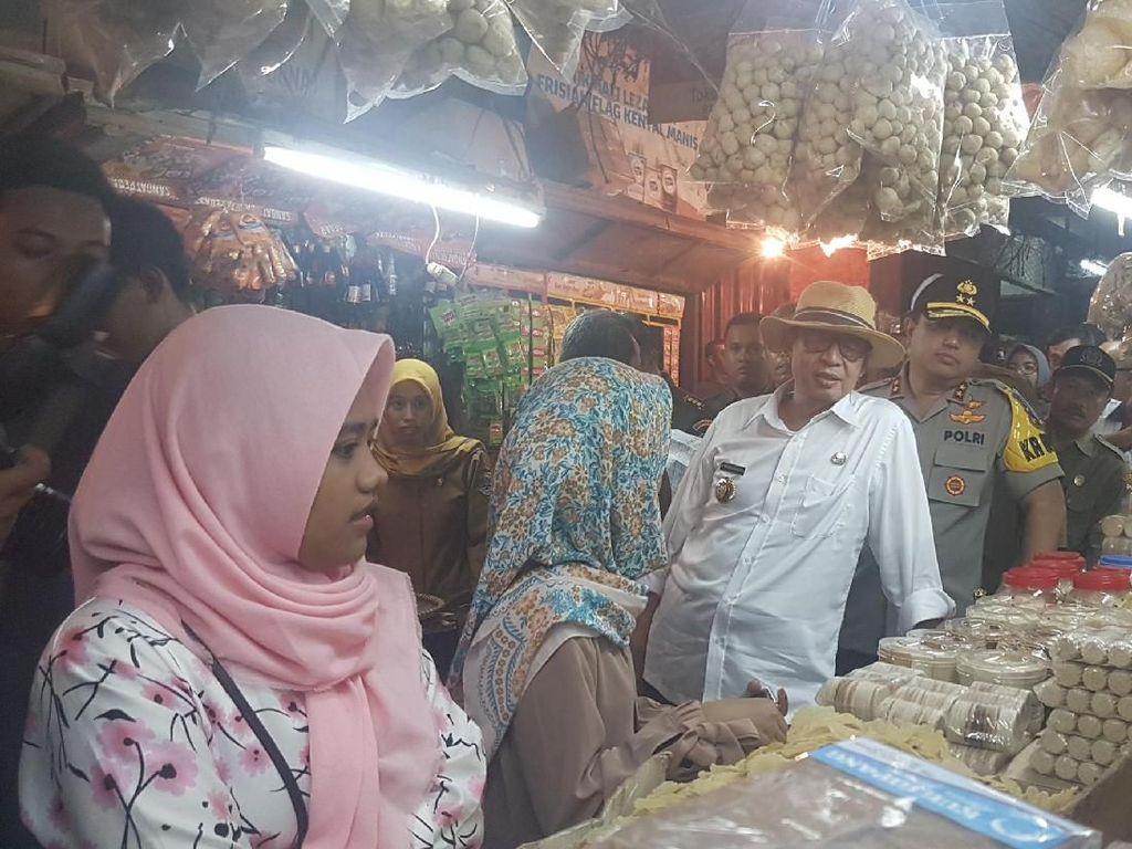 Cek Bahan Pangan, Gubernur Banten Temukan Bawang Putih Rp 48.000/Kg