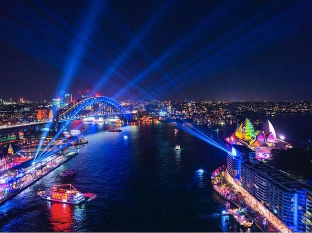 4 Hal Seru yang Bisa Dilakukan di Festival Cahaya Vivid Sydney