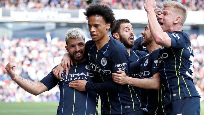 Manchester City di Liga Inggris. (Foto: Reuters)