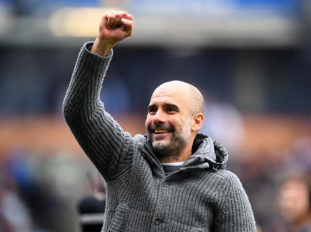 Pep Guardiola Raih Gelar Pelatih Terbaik Premier League