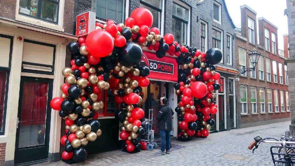 Foto: Bioskop Porno 5 Dimensi Ada di Belanda