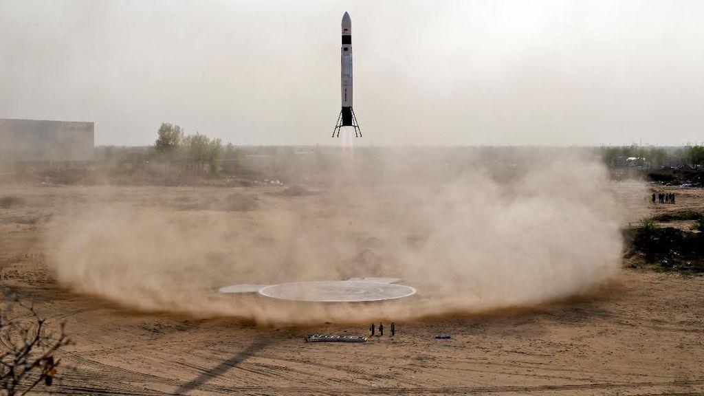 Keren! Startup China Bikin Roket Ulang Alik Mini