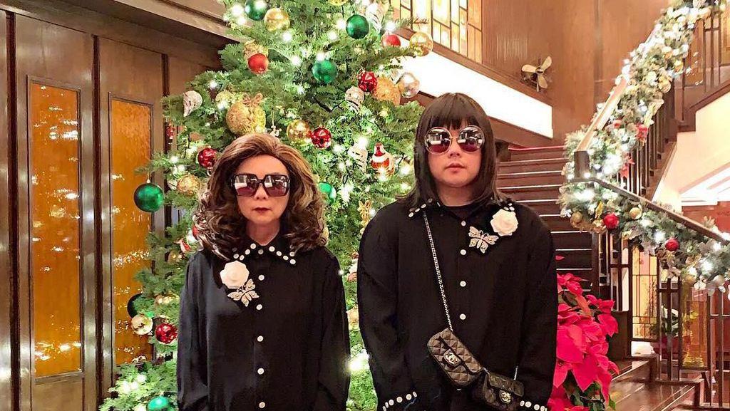 Gaya Liburan Ibu dan Anak Crazy Rich Asian dari Thailand