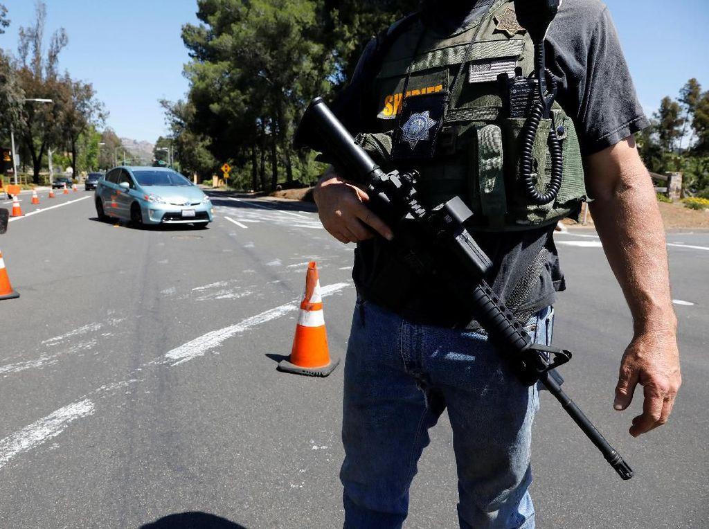 Pelaku Penembakan di Sinagoge AS Bertindak Sendirian, Motif Diselidiki