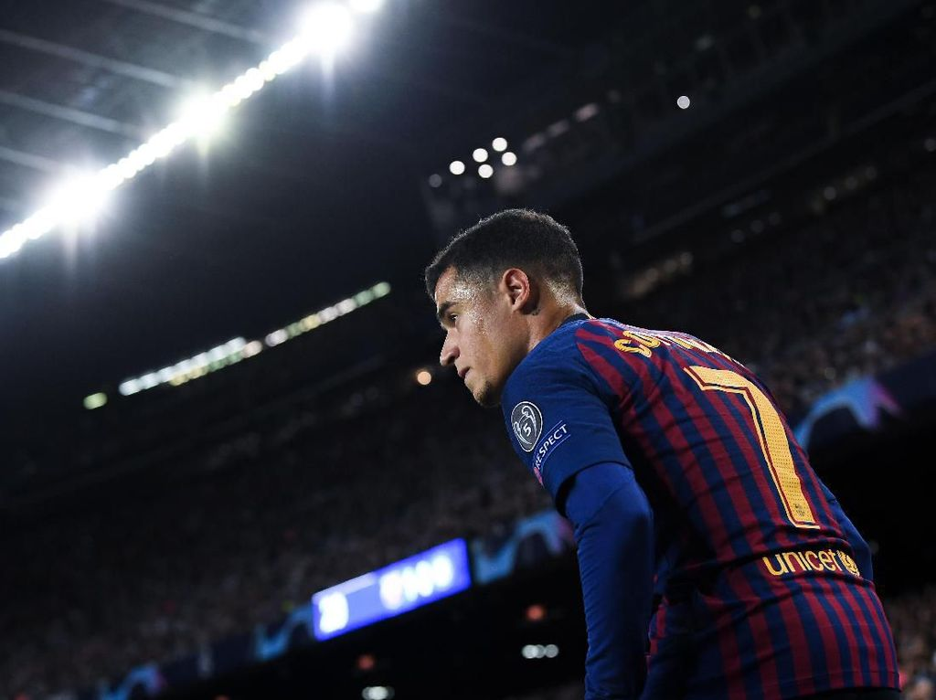 Coutinho Cuma Kurang Percaya Diri Saja di Barcelona