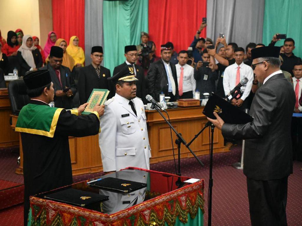 Plt Gubernur Aceh Lantik Bupati Bener Meriah Pengganti Ahmadi