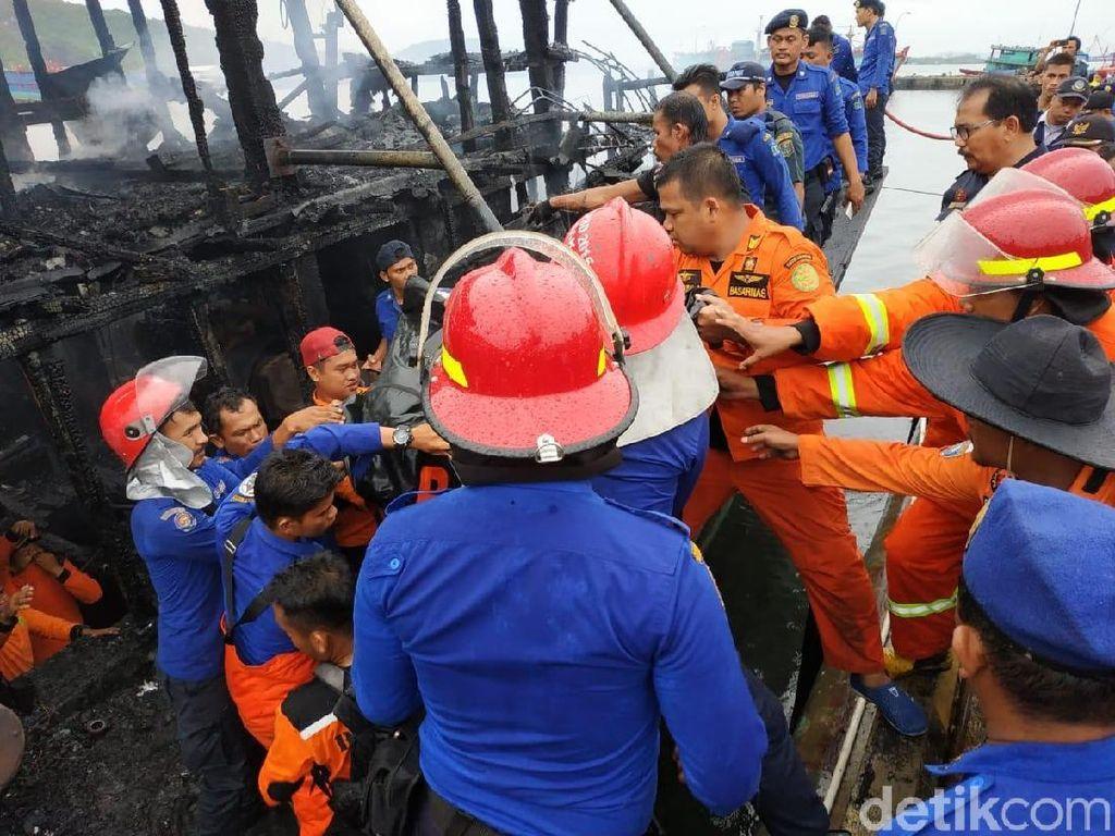 Kebakaran Kapal di Pelabuhan Sibolga, 2 ABK Tewas