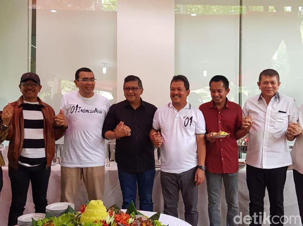 TKN Gelar Syukuran Kemenangan Jokowi-Maruf Bareng Relawan Medsos