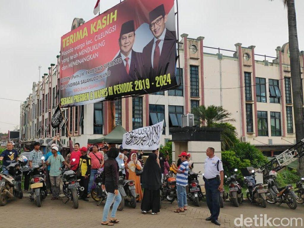 Tanggapan Bawaslu Bogor Soal Baliho Klaim Kemenangan Prabowo