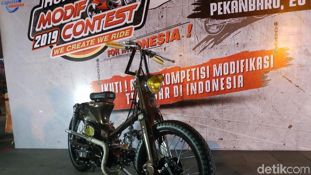 Tomcat, Jawara Modifikasi Motor yang Terbuat dari Barang Loak