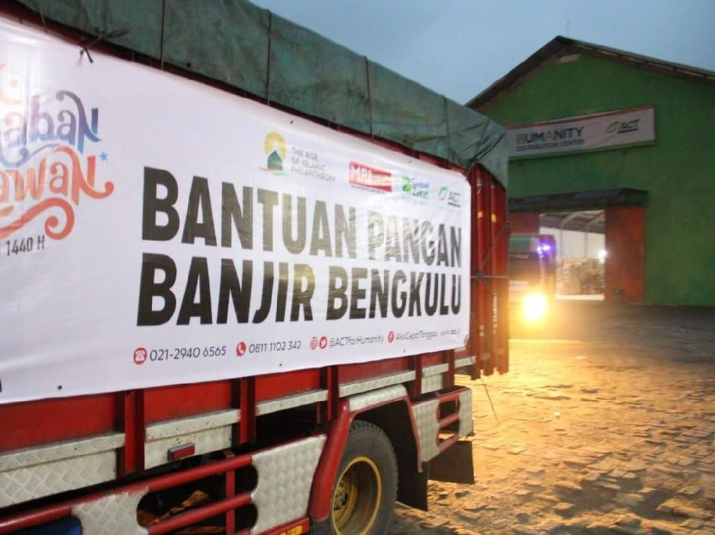 ACT Kirim 60 Ton Bantuan untuk Korban Banjir Bengkulu